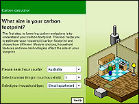 BP carbon footprint calculator