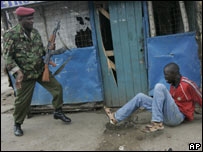 Confrontation in Mathare, Nairobi