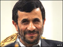 Mahmoud Ahmadinejad, file picture
