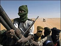 متمردون في دارفور