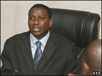Prosecutor Raymond Tchimou