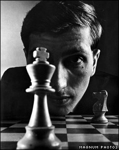 Bobby Fischer photographed by Philippe Halsman in 1972