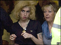 Amy Winehouse with her mother-in-law Georgette