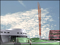 Artist's impression of Aspire