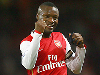 Arsenal captain William Gallas