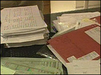 Confidential documents found near Exeter Airport