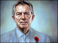 Portrait of Tony Blair by Jonathan Yeo