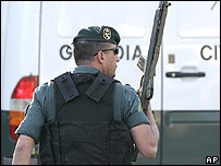 Efectivo de la Guardia Civil de Espa�a