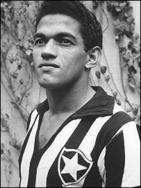 Brazil legend Garrincha