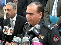 Sindh Police Chief Azher Farooqi