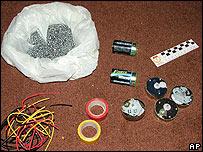 Potential bomb-making material