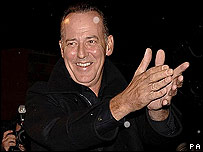 Michael Barrymore going into Celebrity Big Brother in 2006