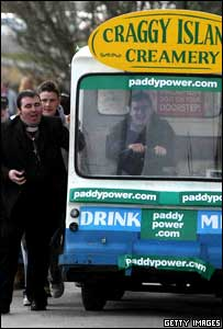 The milk float from the 2007 festival