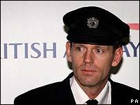 Senior First Officer John Coward