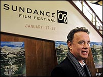 Tom Hanks at the Sundance Film Festival