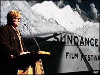 Robert Redford at the Sundance Film Festival