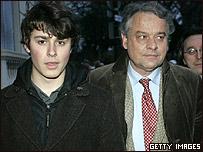Lorenzo y Fabrice Deloyye, hijo y ex esposo de Ingrid Betancourt