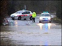 Flooding in Huddersfield