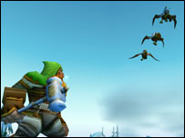 Screenshot from World of Warcraft, Blizzard