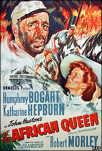 Film poster from The African Queen