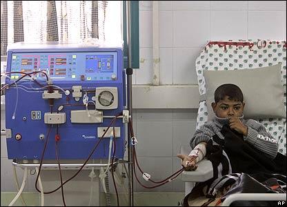 Boy in hospital 21 January