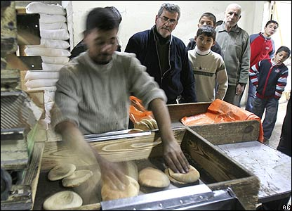 Baker in Gaza 21 January