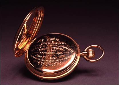 An 18ct pocket watch