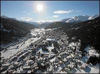 Davos valley