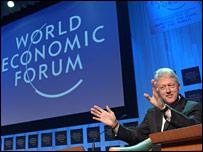Bill Clinton in Davos