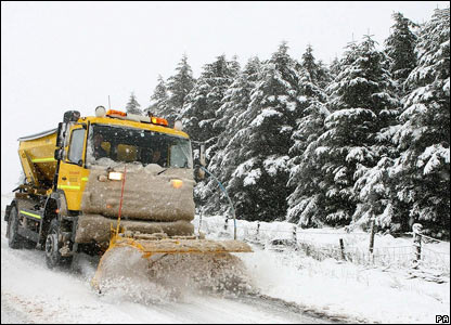 Road cleaning in Northumberland