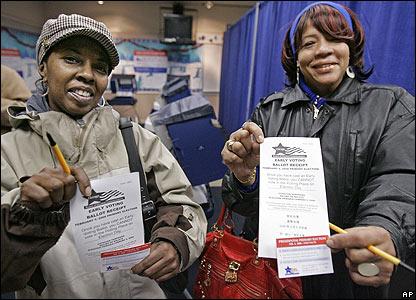 Voters in Illinois