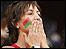مشجعة مغربية