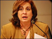Mar�a Ester Reus, presidenta de la Comisi�n Electotral Nacional (foto: Raquel P�rez)