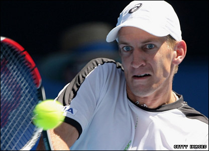 The Spaniard is up against Finland's Jarkko Nieminen, who at 24 is the lowest-ranked men's player left in the tournament