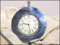 Clock from Hitler's car (Courtesy of Eleys Auctions)
