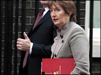 Harriet Harman and colleague at previous meeting