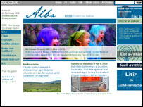 BBC Alba website