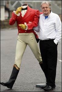 George MacLean and Johnnie Walker [Pic: Peter Jolly]
