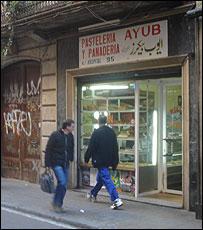 Shop in El Raval barrio