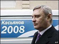 Mikhail Kasyanov. Photo: January 2008