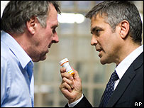 Scene from Michael Clayton 