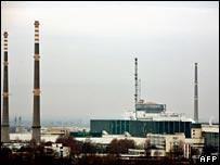 Kozloduy nuclear power plant, Bulgaria