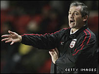 Southampton manager George Burley