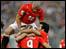 لاعبو مصر يحتفلون بالهدف الثاني لزيدان