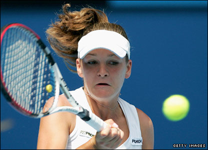 Radwanska hopes for a repeat of her third-round win over second seed Svetlana Kuznetsova