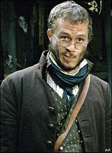 Heath Ledger as Jake Grimm in The Brothers Grimm, 2005