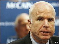 McCain el 21 de enero