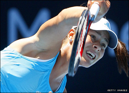 Third seed Ana Ivanovic takes on Venus Williams for a place in the women's semi-finals