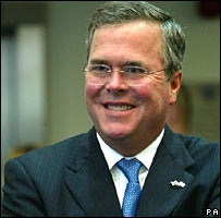 Jeb Bush in a file photo from 2006