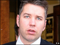 Darren Ferguson at court